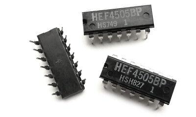 2 pieces HEF4505BP Standard SRAM 64X1 660ns CMOS 4505 IC