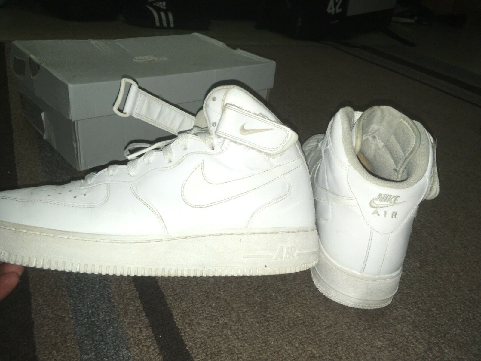 Nike Air Force 1 All White Men's Size 9