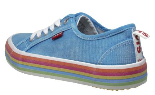 Levi´s Kids Pearl Mädchen Sneaker Halbschuhe Canvas Regenbogen Gr 36-39 Neu