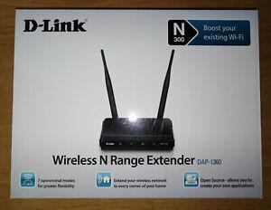 DAP 1360 Wireless N Range Extender   D