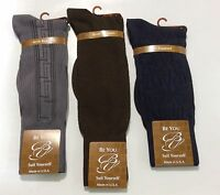 Men's Dress Mid Calf Socks,be You,fits 8-12.5 Geometric Pattern Arch Support