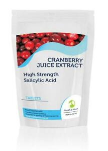 Cranberry-Juice-5000mg-Extract-Salicylic-Acid-x500-Tablets-Letter-Post-Box-Size