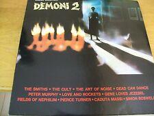 DEMONI 2  O.S.T. LP RARO  SMITHS CULT DEAD CAN DANCE FIELDS OF NEPHILIM