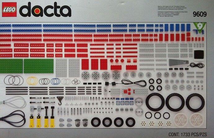 Lego Technic Dacta 9609 Technology Resource Set Set Set  NEW SEALED 47be5c