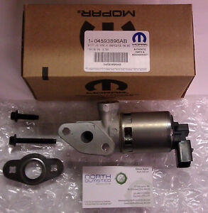 Details about **NEW** EGR VALVE 2008-2010 GRAND CARAVAN TOWN & COUNTRY 3 3L  3 8L V6 WRANGLER