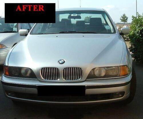 1997-2003 BMW E39 5 SERIES CHROME TRIM FOR GRILL GRILLE 5YR WARRANTY