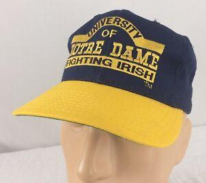 Notre Dame American Needle vintage 90ies nos snapback CAP College us team sport