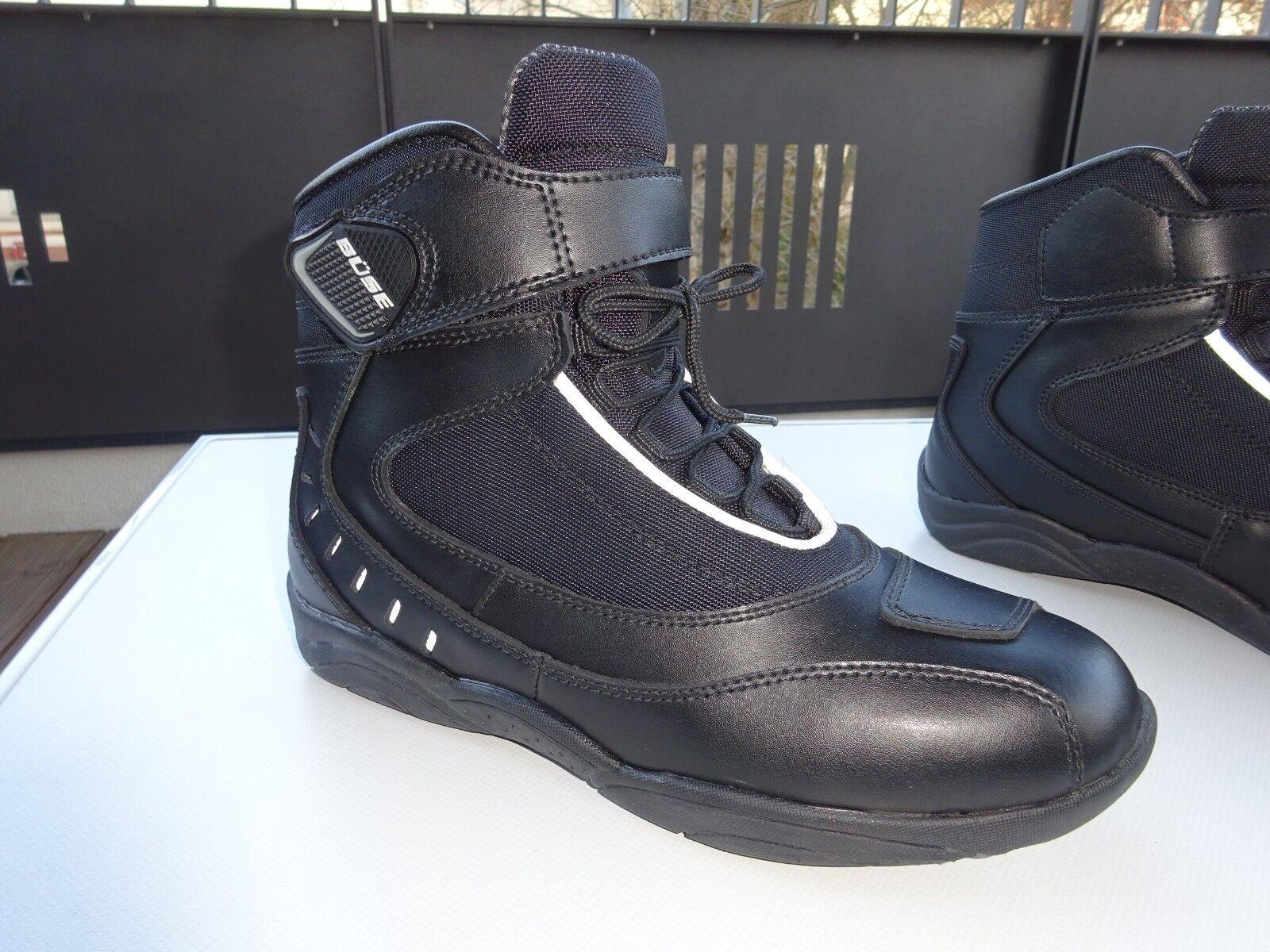 Büse 50.0145 City limit Tex zapatos señora botas motorista cuero Germany nuevo