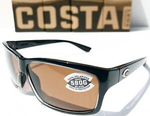 21ae0ca382 Image is loading NEW-Costa-CUT-Black-polished-POLARIZED-Copper-580P-