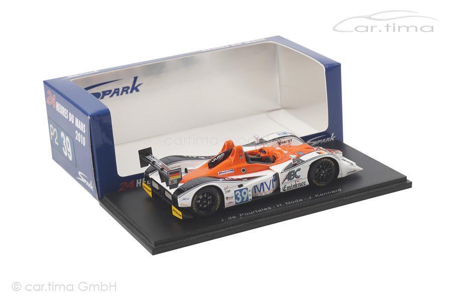 Lola-Judd KSM - 24h Le Le Le Mans 2010 - de Pourtales   Noda   Kennard - Spark - 1 43 5d1abc