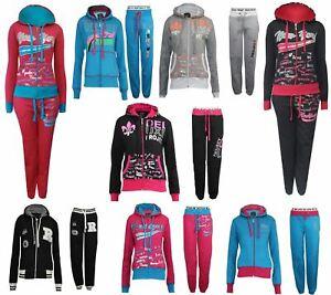 1a3c3c999a Details about Womens Tracksuit Ladies Girls Gym Sport Jogging Fleece  Sweatshirt Bottom Hoodie