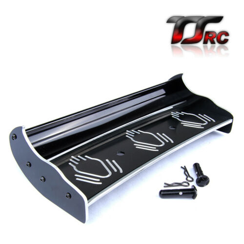 Alloy CNC Rear Wing Set for 1//5 RC HPI BAJA 5B 5T 5SC Rovan King Motor