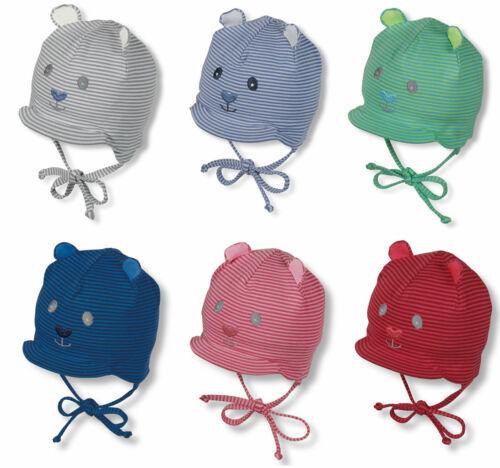 K625 Baby Jungen Mädchen Sommermütze Tiergesicht Ohren Mütze STERNTALER 4001568