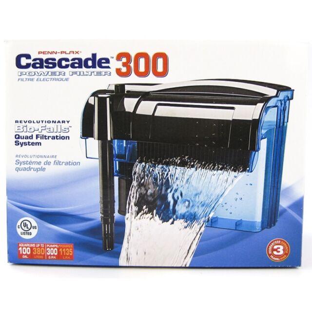 Penn Plax Cascade Aquarium Power Filters 5 Models Available