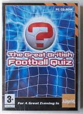 The Great British Football Quiz Pc Windows 2005 Ebay