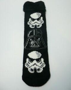 Details about Star Wars Darth Vader Stormtrooper Slipper Socks 1 Pair Christmas Novelty Gift