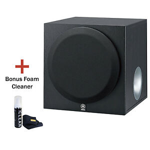 "Yamaha YSTSW012 B 8""Front-Firing Active Subwoofer. With Gadget Cleaner. Refurb."