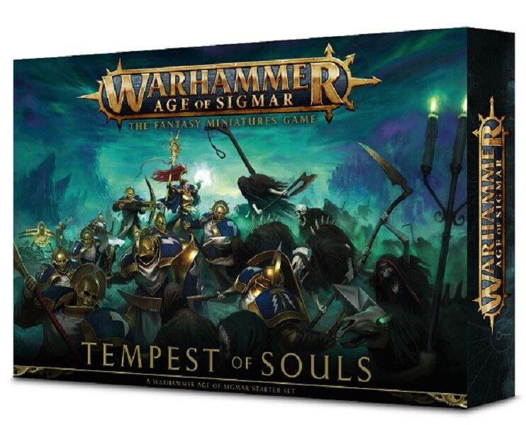 Warhammer edad de Sigmar-tempestad de almas Estrellater Set (nuevo)