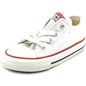 Clothing, Shoes & Accessories Boys White Low Top Converse Infant 10