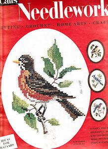 Crochet Home Magazine : ... McCall Needlework Magazine Knitting Crochet Home Decorating eBay
