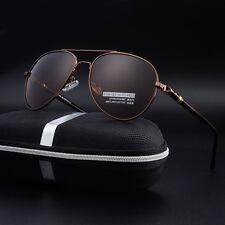 100%-UV400-HD-Polarized-Mens-Sunglasses-Outdoor-Sports-Pilot-Eyewear-Glasses