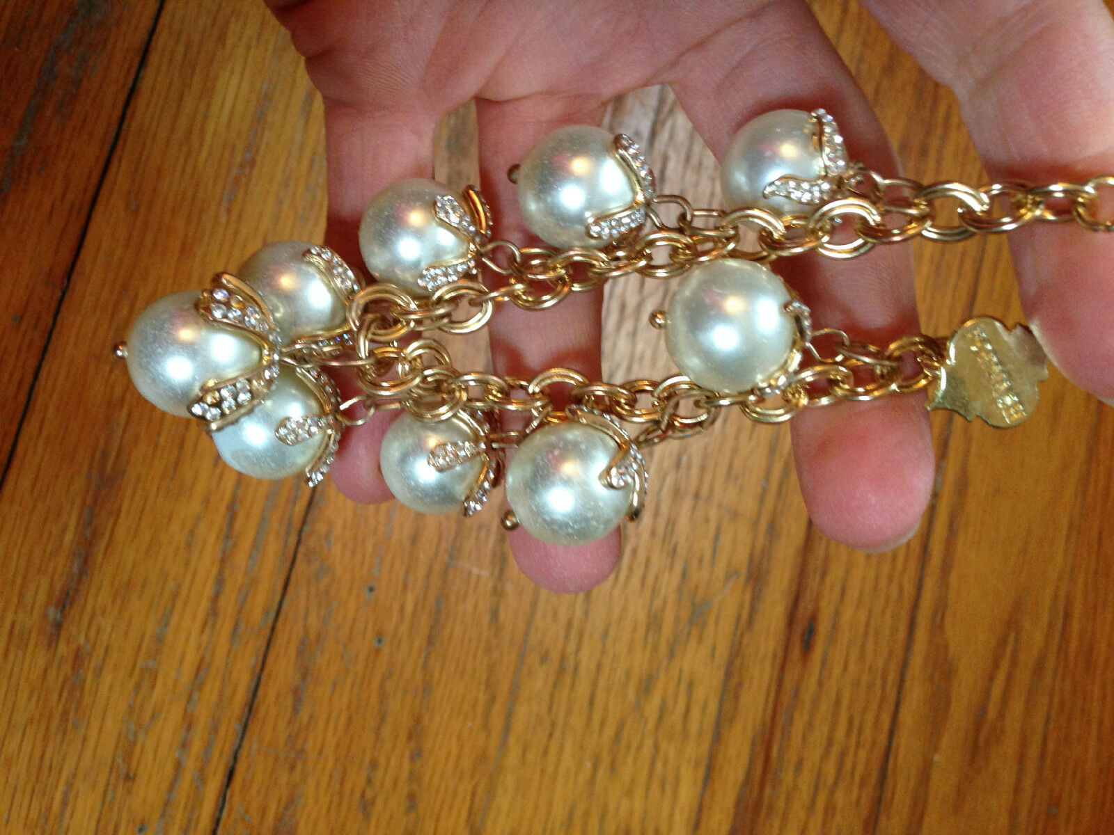 Costume Jewelry Lot Mixture of necklaces, and bra… - image 11