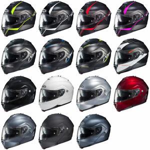 HJC-IS-Max-2-Modular-Motorcycle-Street-Helmet-w-Sun-Visor-DOT-Pick-Size-Color