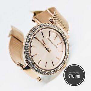 Mk3369 De Detalles Oro Reloj Darci Michael Rosa Nuevo Kors vNOmnw80