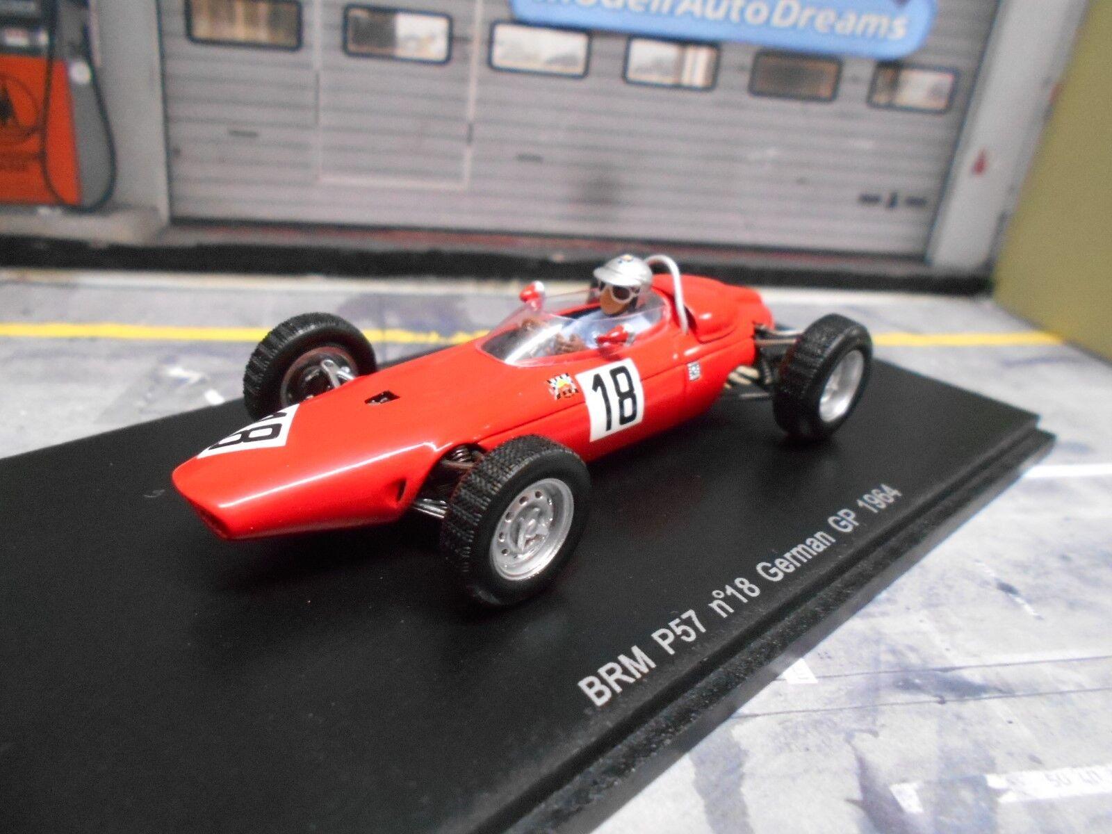 marca en liquidación de venta F1 BRM p57 German Alemania gp 1964 1964 1964  8 Baghetti precio especial Spark 1.43  bienvenido a elegir
