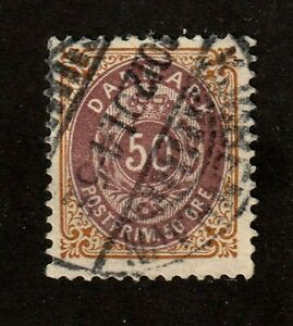 Denmark-stamp-51-used-1895-1901-SCV-24
