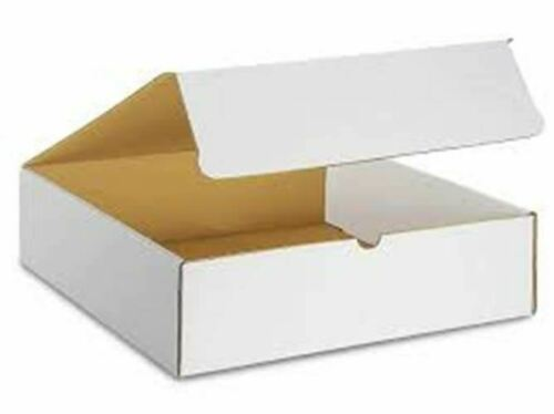 Envelopes & Mailers 12x12x3 WHITE CORRUGATED SHIPPING LITERATURE ...