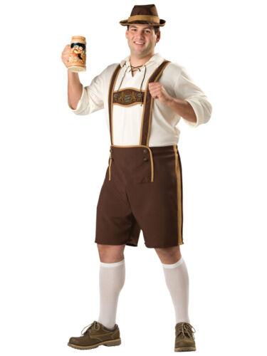 Adult Bavarian Beer Guy Oktoberfest Outfit Fancy Dress Costume German Lederhosen