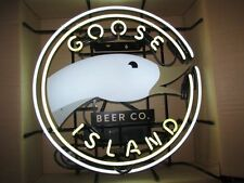 """New Goose Island Beer Bar Neon Light Sign 20""""x16"""" Ship From USA"""