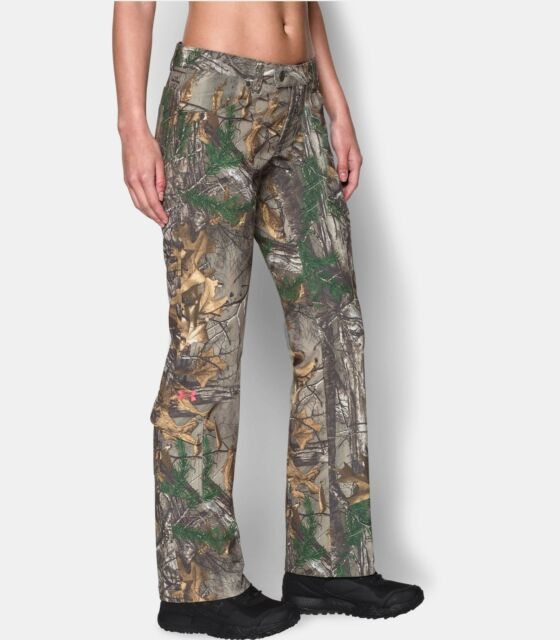 2df362740b9b8 Under Armour Womens Scent Control Camo Field Pant 8 Realtree Xtra 1260162  946