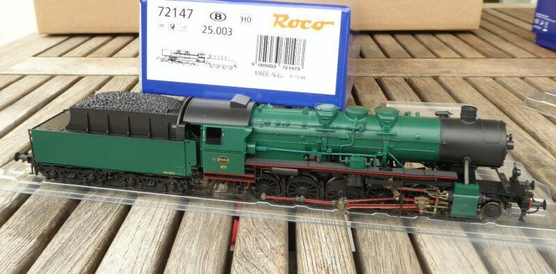 Roco 72147 Steam Locomotive Series 25 Ex Br 52 Snyb Ep.3 Henning Sound