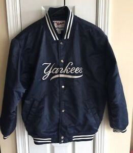 Image is loading NEW-YORK-YANKEES -Majestic-Authentic-Collection-SATIN-DUGOUT- 704eb6b8f23