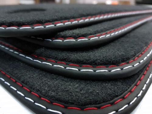 Fußmatten für Maserati Ghibli III ab Bj.2013 Qualität Velours Doppelnaht styling