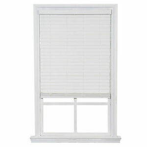 One Touch Faux Wood Blinds White Free Shipping Ebay