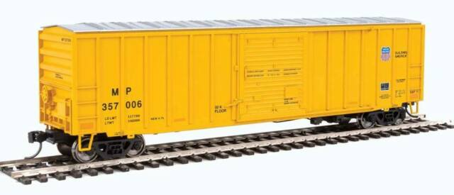Walthers-50' ACF Exterior-Post Boxcar - Ready to Run -- Missouri Pacific (TM)/Un