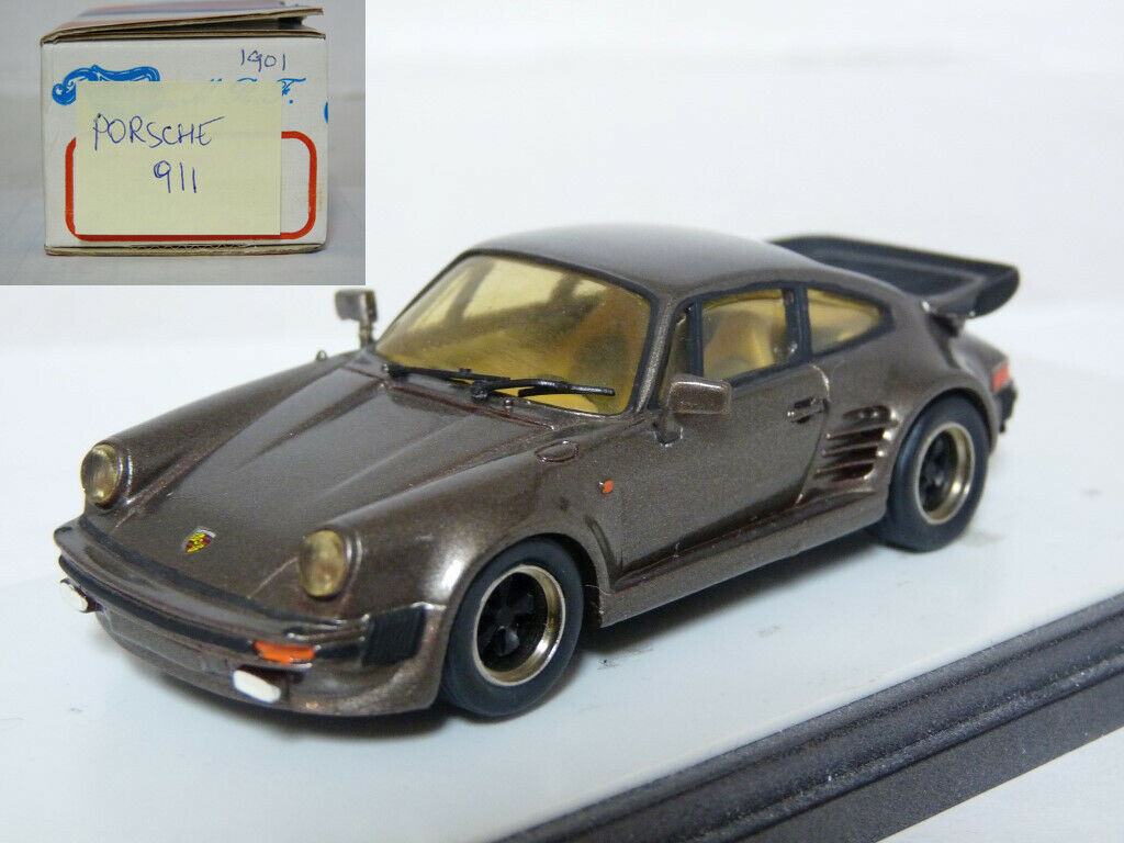Record  Porsche 911 Turbo Resin Handmade Model Car Kit