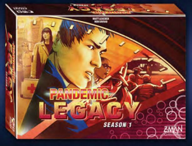 Pandemic Board Game - Legacy - Season 1 - Red Edition
