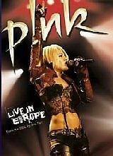 1 of 1 - Pink - Live In Europe (DVD, 2006)