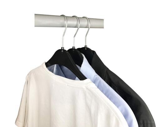 100 x NA 47 Kleiderbügel Blusenbügel Raumsparbügel Kunststoff Garderobenbügel