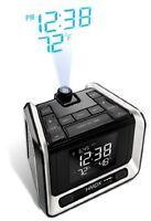 Hmdx Hx-b320 Sleep Station Plus Projection And Weather Alarm Clock With Fm Radio