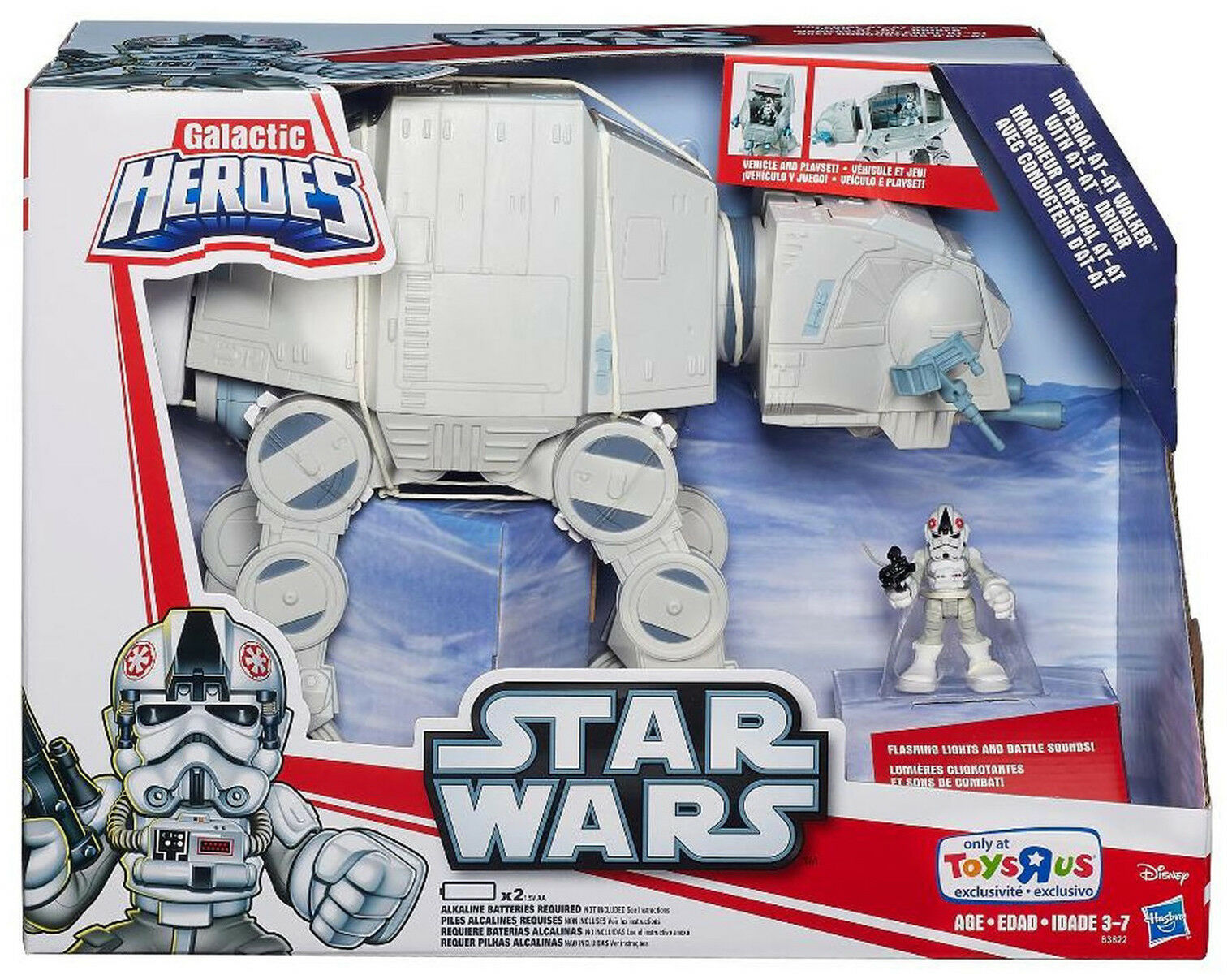 Star Wars Playskool Galactic Heroes Imperial AT-AT Walker Brand New Sealed MISB