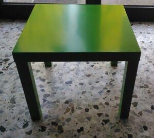 Tavolino Tavolo Arredamento Casa Salotto Cucina Ikea In Buone Condizioni Verde Ebay
