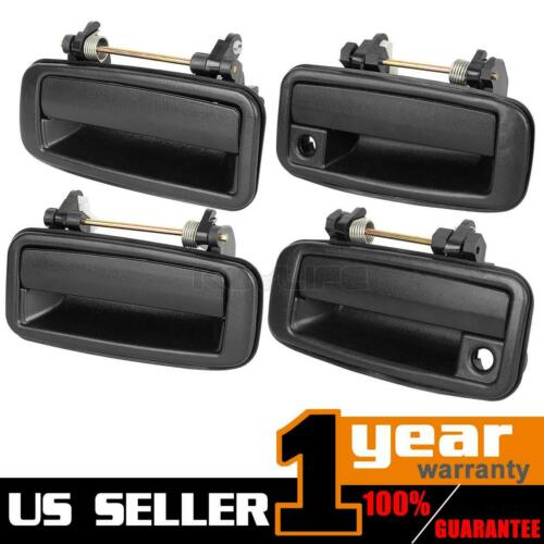 Set of 4 Pair For 1989-1992 GEO PRIZM Exterior Outside Front Rear Door Handle