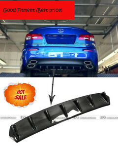 New Carbon Rear Bumper Diffuser For Lexus Isf 08 10 Fit Ct200 Gs350