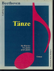 Beethoven-034-Taenze-034-Urtext-fuer-Piano
