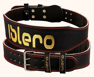 ISLERO-6-034-4-034-Pure-Cintura-in-Pelle-Palestra-Sollevamento-Pesi-Supporto-Posteriore-Cinturino